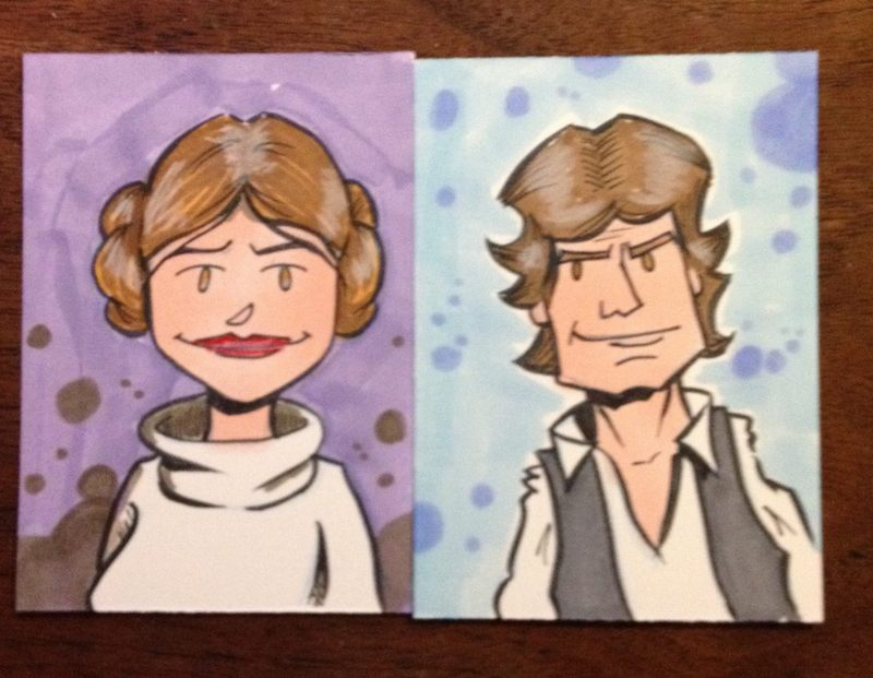 Leia and Han