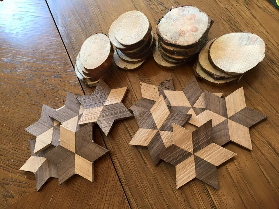 Wood Working Ornaments